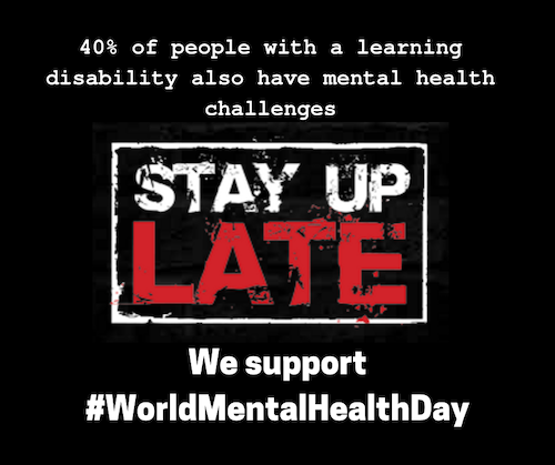 40% of people with a learning disability also have mental health challenges
